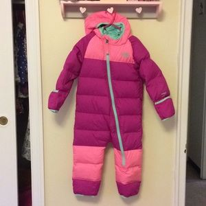 The North Face Lil' Snuggler Down Suit